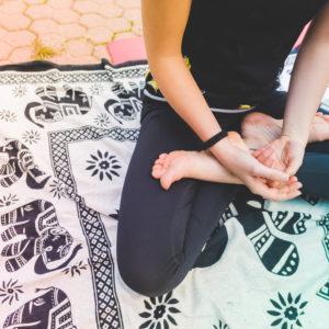 Yoga class in ammanford