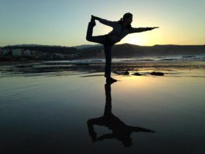Balance in Yoga Class